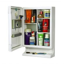 Cipla Plast New Look Bathroom Cabinet with Mirror White