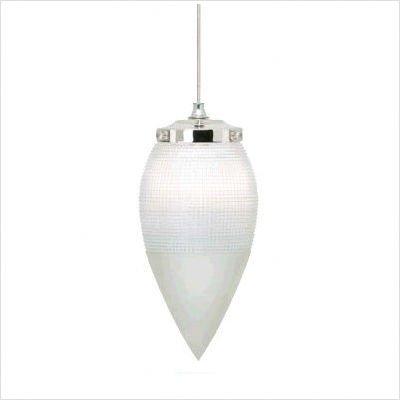 Wilmette Lighting 600Fjprocn-Led Printers Row 1Lt 12-Volt Freejack Led Pendant, Polished Nickel Finish With Clear Glass