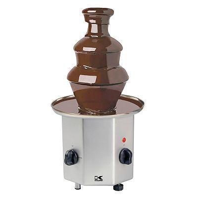 Kalorik CHM-16314 Stainless-Steel 2-Tier 2-1/2-Quart Chocolate Fountain