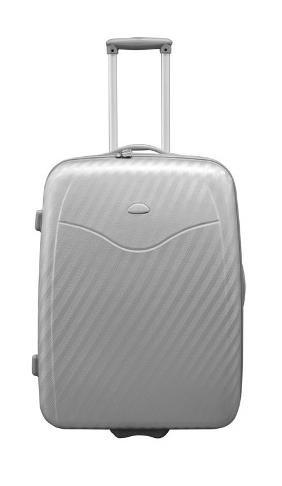 Hartschalen Koffer 65cm Silber