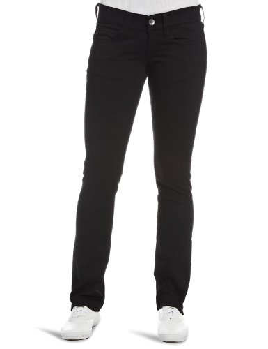 Fornarina Pin Up Slim Women's Trousers Black W31 Inxl32 In