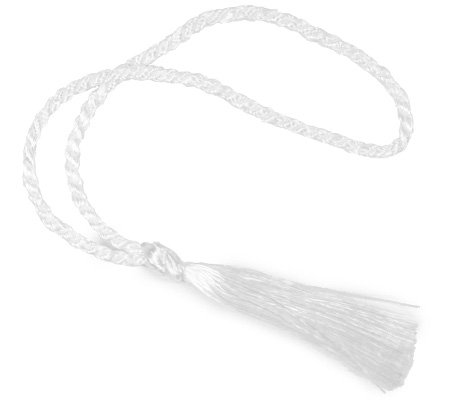 For Sale! 100 Floss Bookmark Tassels (White)