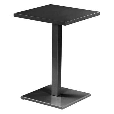 EMU Bartisch Tisch Tresentisch Bar Round 60x60x105 cm (schwarz)