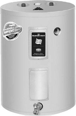 Bradford White M230L6Ds-1Ncww 30 Gallon Electric Water Heater - Lowboy Model