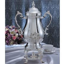 Godinger Coffee Urn 25 Cups, 12.00 X 8.75 X 19.00 (Silver Plated Coffee Urn compare prices)