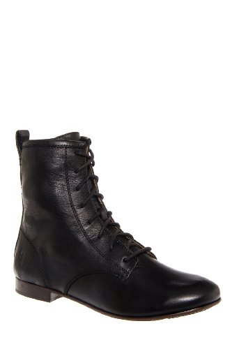 Frye Jillian Lace Up Flat Bootie