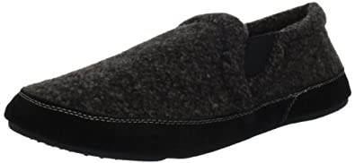 ACORN Men's Fave Gore Slipper,Night Tweed,Small/7-8.5 W US