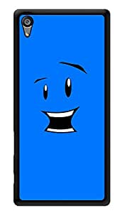 """Humor Gang Funny Face Printed Designer Mobile Back Cover For """"Sony Xperia Z5"""" (3D, Glossy, Premium Quality Snap On Case)"""