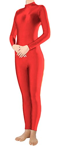 marvoll-lycra-long-sleeve-unitard-bodysuit-dancewear-for-kids-and-adults-large-red