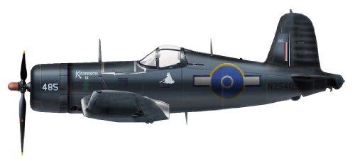 hobby-master-1-48-f4u-1d-corsair-royal-new-zealand-air-force-japan-import-das-paket-und-das-handbuch