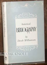Historical bibliography