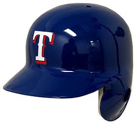Texas Rangers Official Batting Helmet - Left Flap at Amazon.com
