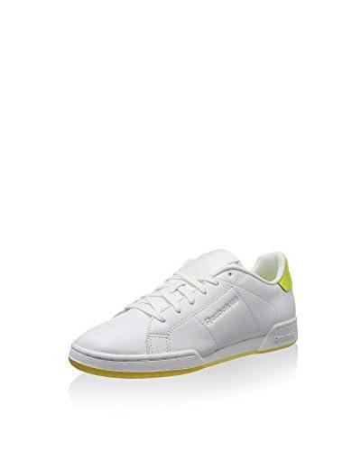Reebok Sneaker Npc Ii Ne Face weiß/fluo gelb