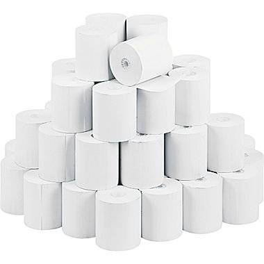 Sparco Thermal Paper Roll, 3-1/8 x 230-Feet, 50 Count, White (SPR25346) (Thermal Cash Register Paper Roll compare prices)