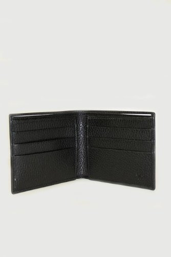 Gucci Wallets Black Leather 150411 (Men)