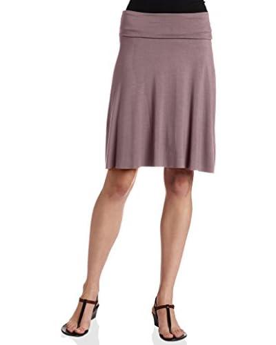 Three Dots Women's Foldover Knit Skirt