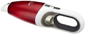 Philips FC6144/01 Akkusauger (ohne Beutel, 7,2V NiMH-Akku, 2-stufig) rot/weiß