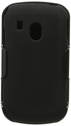 Tracfone BC Hard Cover Combo Case Holster for Tracfone LG 500G, C100 -Black - Carrying Case - Non-Retail Packaging - Black (Lg 500 Phone Cases compare prices)