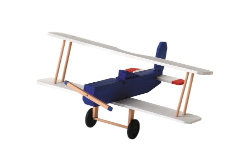 Darice 9169-08 Wood BI Plane Model Kit