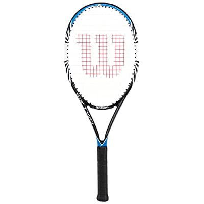 Wilson BLX SIX Two 110 Tennis Racquet (Blue)