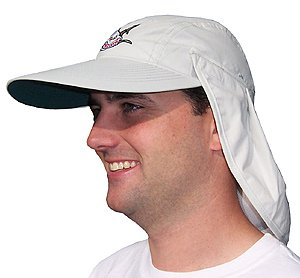 Large Brim Hat / Cap with Removable Back Flap (acc224)