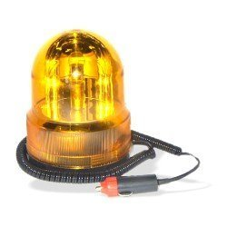 12 Volt Flashing Emergency Light, Amber