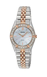 Seiko Solar Two-tone Women's watch #SUP112
