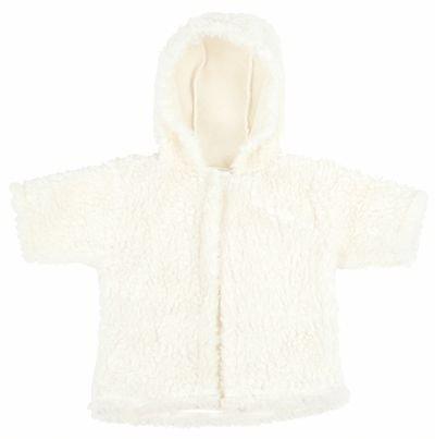 Manteau Blanc Pour Des Poupées De 60 Cm
