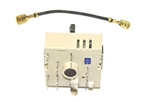 GE WB24T10063 Range Dual Burner Control Switch for Stove