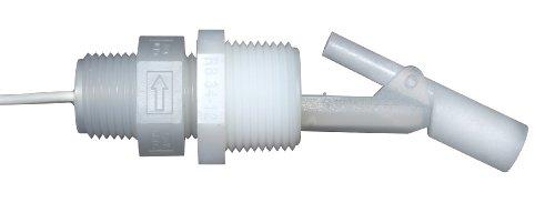 Madison M8700-C Polypropylene HVAC Series Condensate Level Float Switch, 30 VA SPST, 1/2