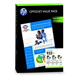 HP Ink Value Pack C/M/Y No.933XL ink + 75 Sheets A4, 383HPCR711AE (ink + 75 Sheets A4)