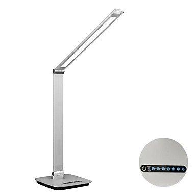 10W Ambient Light Sensor Dimmable Led Desk Lamp, 100~240V Input, 4000K Netural White