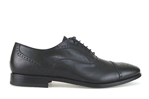 scarpe uomo FABI classiche nero pelle AK933 (45 EU)