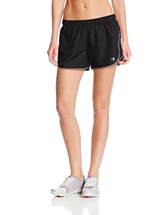 Champion Women's Sport Short III, Black/Medium Grey, X-Small