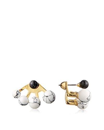 nOir Sphere Multi Semi Precious Earring Jacket