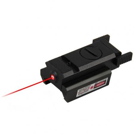 Tactical Compact Pistol Rail Red Laser Sight