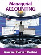 Managerial Accounting (11th, 12) by Warren, Carl S - Reeve, James M - Duchac, Jonathan [Paperback (2011)]