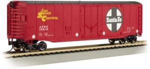 Bachmann Trains Santa Fe 50' Plug-Door Box Car