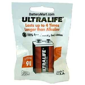 Ultralife 9v Long Life Lithium Battery