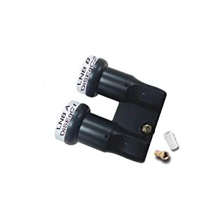 HD-LINE monoblock Single FULL HD 3D avec connecteur or LNB 0.1dB 6° astra19.2° hotbird 13° DOUBLE TETE 1 SORTIE MONOBLOC