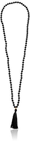 Satya Jewelry Black Onyx Gold Lotus M…