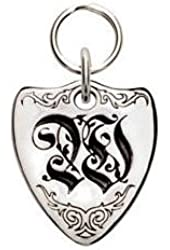 Rockinft Doggie 844587000615 Large Sterling Silver Crest Dog Tag - Letter W