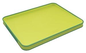 Joseph Joseph Small Cut and Carve Plus Multi-Function Chopping Board, Green
