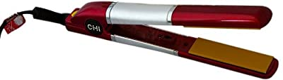 Best Cheap Deal for Ceramic 1 Inch Flat Iron GF1001, Limited Edition Red by Farouk CHI - Free 2 Day Shipping Available
