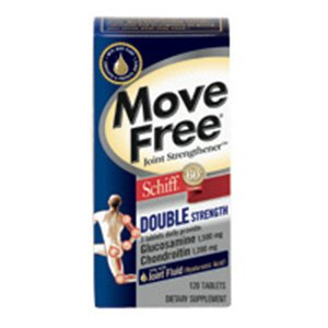 Schiff Move Free Double Strength, 120-Count Promo Offer