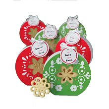 Martha Stewart Crafts Holiday Scandinavian Poinsettia Treat Bag