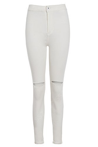 SS7 -  Jeans  - Donna crema 10