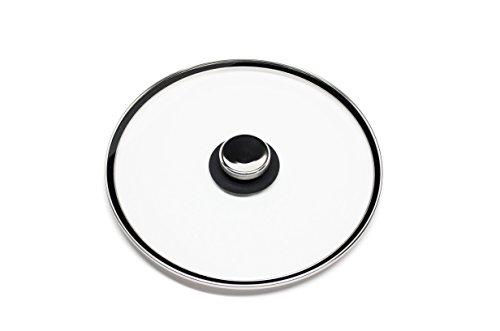 Quicklids QL-MED-BL Medium Universal Glass Pot Lid with ...