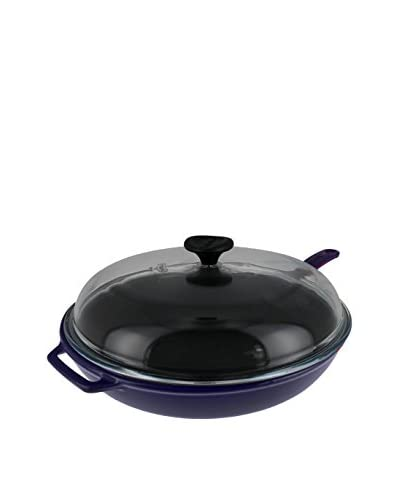Chasseur Cast Iron Frypan with Glass Lid