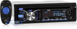 Jvc Kdr640 Cd-Usb Receiver Sirius-Xm-Bluetooth Ready